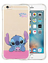 Snow Dance Soft Transparent Silicone Back Case for iPhone 6/6S (Assorted Colors)