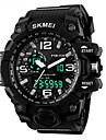 Men\'s Sport Watch Digital Watch Digital LCD Calendar Chronograph Water Resistant / Water Proof Dual Time Zones Sport Watch PU Band