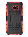 용 Samsung Galaxy S7 Edge 충격방지 / 스탠드 케이스 뒷면 커버 케이스 갑옷 PC Samsung S7 edge / S7