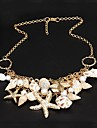 Necklace Statement Necklaces Jewelry Party / Daily Fashion Alloy Gold 1pc Gift