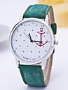 Women\'s Fashion Watch Simulated Diamond Watch Quartz Fabric Band Red Green Pink