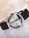 Men's Triangle Case Leather Band Wrist Watch Cool Watch Unique Watch Fashion Watch