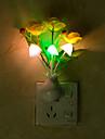 kreativ veraenderbare Farbe Blume Lichtsensor Nachtlicht