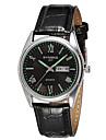 SYNOKE Men\'s Wrist watch Calendar Quartz Japanese Quartz Leather Band Black Pink
