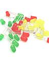 5mm LED Light-Emitting Diodes Set - Red + Yellow + Green (30PCS)
