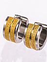 Серьги-гвоздики Серьги-кольца Золотой Бижутерия Для Свадьба Для вечеринок Повседневные 1 пара
