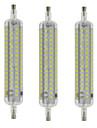 10W R7S LED лампы типа Корн T 120 SMD 2835 800 lm Тёплый белый / Холодный белый Водонепроницаемый / Декоративная AC 220-240 V 3 шт.