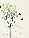 DIY My Orange Tree With Birds Wall Stickers Removable Living Room Bedroom Wall Decals