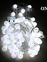5м Светодиодные строки огни с 50led шарика AC220v праздника украшение праздника лампы Рождественские огни наружное освещение