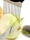 1 pieces Oignon Cutter & Slicer For Pour legumes Acier Inoxydable Haute qualite Creative Kitchen Gadget Nouveautes