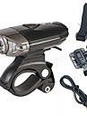 Налобные фонари / Велосипедные фары / Передняя фара для велосипеда / Задняя подсветка на велосипед LED Cree ВелоспортПерезаряжаемый /