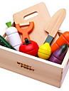 магнитные деревянные фрукты и овощи вырезать дома игрушки детское питание игры