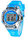 Kids\' Sport Watch LED Digital Strap Watch Rubber Band Black Blue Red Green Pink Purple