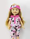 Sharon наборы 16-дюймовых одежды куклы платье принцессы шляпа моды аксессуаров одежды три цвета свободной ребенка