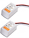 2PCSAC 110-240V to DC 12V 18W LED Voltage Converter