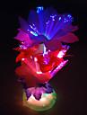 1шт изменение цвета привело красочные лампы освещения салона ванной свет Оригинальность ночники свет ночи