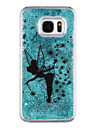 For Samsung Galaxy S7 Edge Flowing Liquid / Transparent / Pattern Case Back Cover Case Cartoon Hard PC Samsung S7 edge / S7