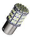 2x BA15s 1156 яркий белый 64 SMD автомобиля на колесах хвост тормоза резервного копирования обратная светодиодных ламп 12v