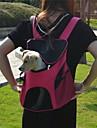 Кошка Собака Переезд и перевозные рюкзаки Животные Корпусы Компактность Дышащий Твердый Желтый Розовый Зеленый Светло-синий Радужный