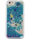 용 아이폰6케이스 아이폰6플러스 케이스 케이스 커버 플로잉 리퀴드 투명 패턴 뒷면 커버 케이스 깃털 하드 PC 용 Apple iPhone 6s Plus iPhone 6 Plus iPhone 6s 아이폰 6 iPhone SE/5s iPhone 5
