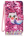 Owl Painted PU Leather Material of the Card Holder Phone Case Foramsung Galaxy J3 J5 J310 J510 J710