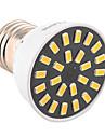 5W E26/E27 Точечное LED освещение MR16 24 SMD 5733 400-500 lm Тёплый белый / Холодный белый Декоративная AC 220-240 / AC 110-130 V 1 шт.