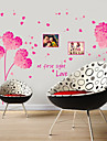 Wall Stickers Wall Decals, Style Super Romantic PVC Wall Stickers