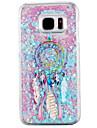 Pour Samsung Galaxy S7 Edge Liquide Coque Coque Arriere Coque Attrapeur de reves Dur Polycarbonate pour Samsung S7 edge S7 S6 edge S6