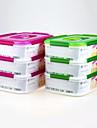 yooyee бренд подарка рождества укладки пластика PP свежесть, сохраняющий коробку с крышкой