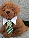 Собаки пояс/Бабочка Одежда для собак Лето Весна/осень В клетку Косплей Праздник Черный Кофейный Красный Зеленый Многоцветный