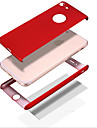 For Stødsikker Andet Etui Heldækkende Etui Helfarve Hårdt PC for AppleiPhone 7 Plus iPhone 7 iPhone 6s Plus/6 Plus iPhone 6s/6 iPhone
