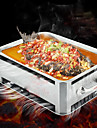 1PC Kitchen Supplies Stainless Steel Barbecue Grilled Fish Furnace
