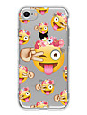 Pour Coque iPhone 7 Coques iPhone 7 Plus Coque iPhone 6 Motif Coque Coque Arriere Coque Dessin Anime Flexible PUT pour AppleiPhone 7 Plus