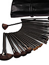 32pcs Blush Brush Eyeshadow Brush Brow Brush Eyeliner Brush Others Travel Professional Full Coverage Wood