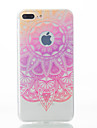 Para iPhone X iPhone 8 iPhone 7 iPhone 7 Plus iPhone 6 Case Tampa Estampada Capa Traseira Capinha Lace Impressao Macia PUT para Apple