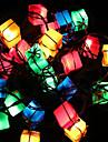 рождественские украшения огни мешок подарка статья водить мерцает свет вала освещает весенний праздник украшение 28lamp гнездо