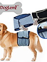 Dog Pants Blue / Black Dog Clothes Summer / Spring/Fall Solid Casual/Daily Doglemi