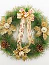 Рождественский венок 3 цвета хвои рождественские украшения для домашнего диаметра партия 40см NAVIDAD новые поставки год