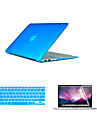 "Case for Macbook Pro 13.3"" Solid Color Plastic Material Top Selling PVC MacBook Case with Keyboard Cover and Screen Flim"