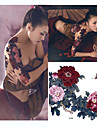 1 Tatuagem Adesiva Series Flores Estampado / Tamanho Grande / WaterproofAdulto Flash do tatuagem Tatuagens temporarias