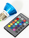 3W E26/E27 Точечное LED освещение MR16 1 Высокомощный LED 240 lm RGB Декоративная V 1 шт.