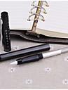 Boligrafo Boligrafo Plumas estilograficas Boligrafo,Plastico Barril Negro colores de tinta For Suministros de la escuelaMaterial de
