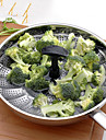 Vegetable Steamer 1PC Alta qualidade / Creative Kitchen Gadget / Multi-Funcao / Melhor qualidade Utensilios de Cozinha Aco Inoxidavel