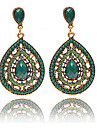 Ethinic Antique Bronze Bohemia Beaded Vintage Earrings For Women Lady  New Jewelry Bijouterie
