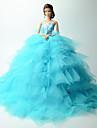 Wedding Dresses For Barbie Doll Dresses For Girl\'s Doll Toy