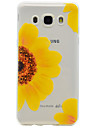 For Samsung Galaxy J710 J510 Sunflower Pattern TPU High Purity Translucent Soft Phone Case G530 G360 One7 One5 J3