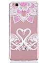 For Huawei P9 Lite P8 Lite Translucent Case Back Cover Case Sexy Lady Soft TPU Huawei Y5II