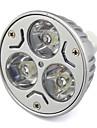 3W GU5.3(MR16) Точечное LED освещение MR16 Высокомощный LED 280 lm Тёплый белый / Холодный белый V 1 шт.