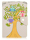 Luxury Lovely Owl For Samsung Galaxy Tab 9.6 9.7 10.1 10.5 Case Cover Shockproof with Stand Sleep Magnetic Pattern Full Body Dream Catcher PU Leather