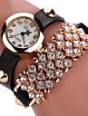 Women\'s Fashion Watch Wrist watch Bracelet Watch Luminous Punk Colorful Quartz PU Band Vintage Sparkle Bohemian Charm Bangle Cool Casual